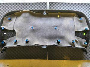 Шумоизоляция крышки багажника ceed 2й слой